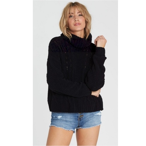 On A Roll Chenille Sweater