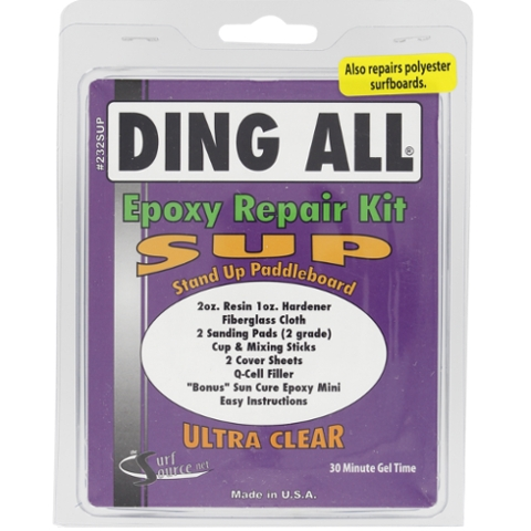 STAND UP PADDLE SUP EPOXY REPAIR KIT