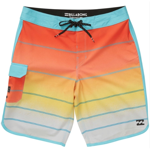 73 X Stripe Boardshort