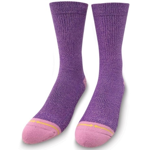 Violet Heather Socks