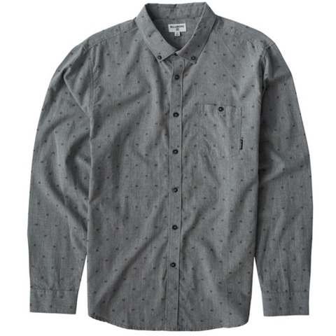All Day Jaquard Long Sleeve Shirt