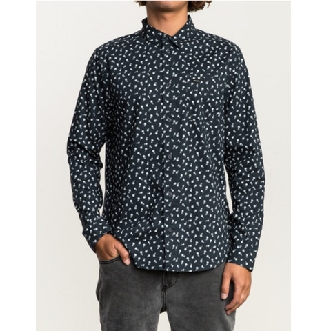 VU Long Sleeve Button-Up Shirt