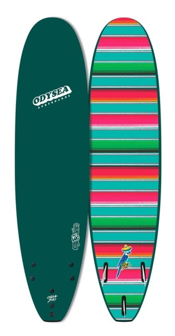 LOG X JOHNNY REDMOND PRO 8' Surfboard