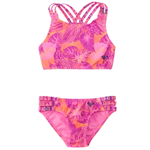Girls Valencia Beach Tankini Set