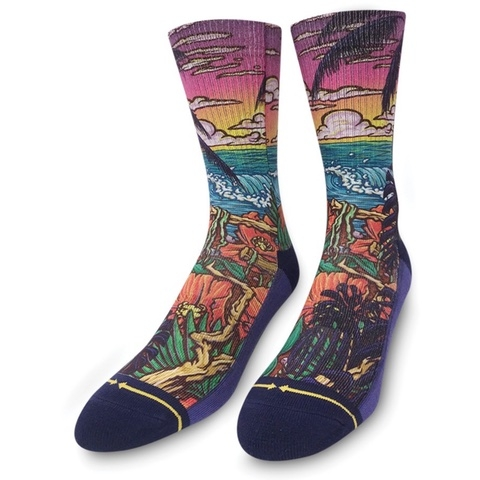 Slogan Jungle Paradise Socks