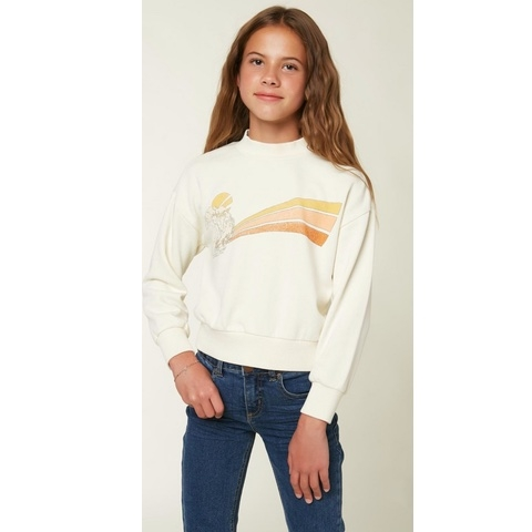 Girls Caila Fleece Pullover