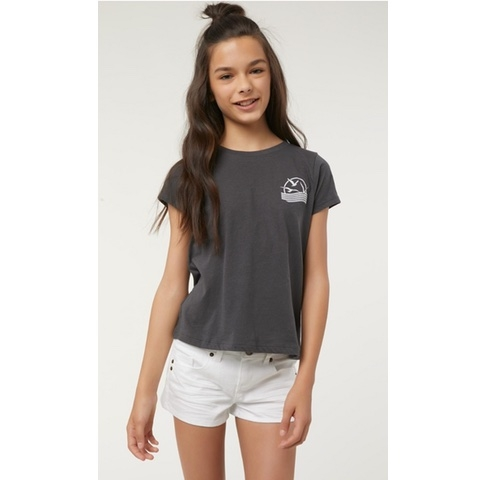 Girls Water Lines Tee
