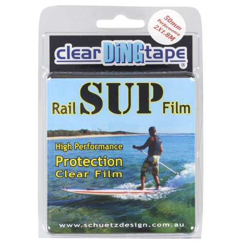 Clear Ding Tape Sup Rail Film Kit