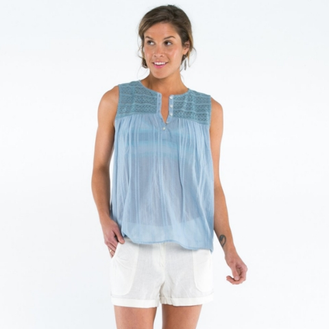 Allison Sleeveless Top
