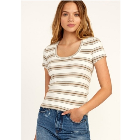 Seasons Change Striped Top