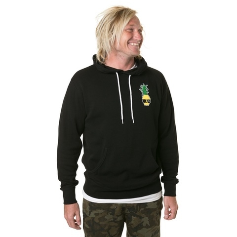 Ben Gravy Pineapple Pullover Hooded Fleece