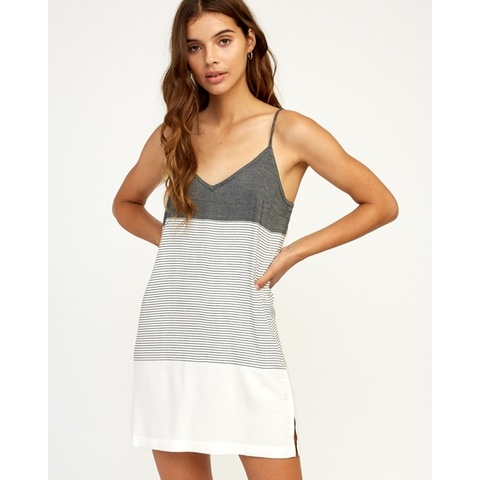 Odyssey Striped Tank Dress