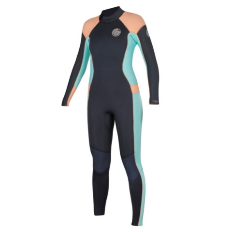 WOMEN'S DAWN PATROL 3/2 BACK ZIP WETSUIT