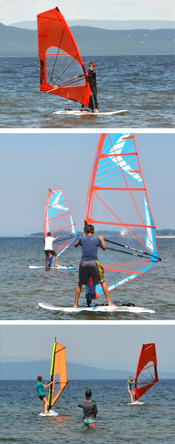 Windsurfing Camps for Kids