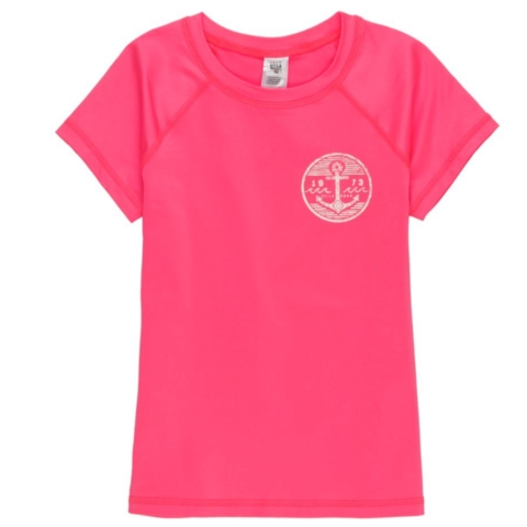 Girls Sol Searcher Short Sleeve Rashguard