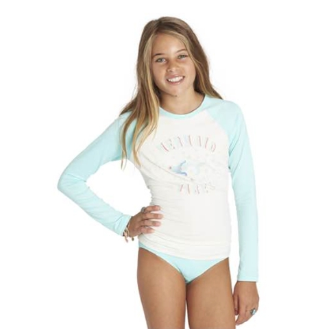 Girls SOL Searcher Long Sleeve Rashguard